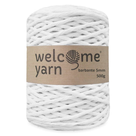 Barbante Yarn XXL White