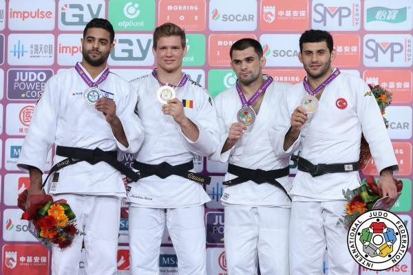 Casse wraps up the year in style claiming IJF World Masters Gold | favuke.com