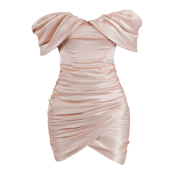 Divine Satin Corset Dress.
