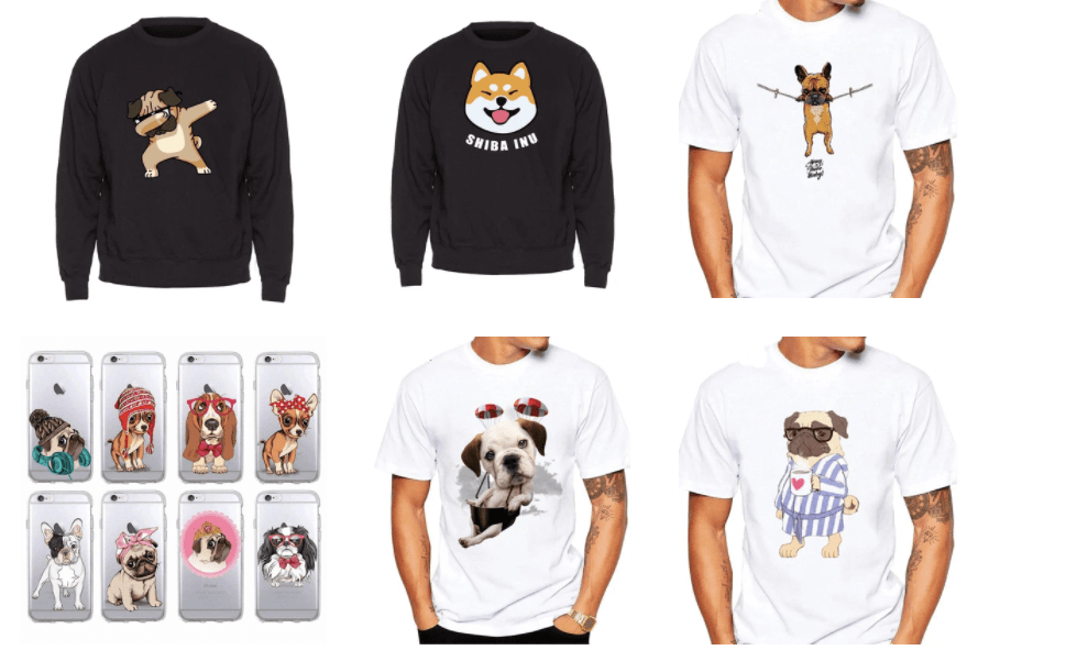 collection vetement chien