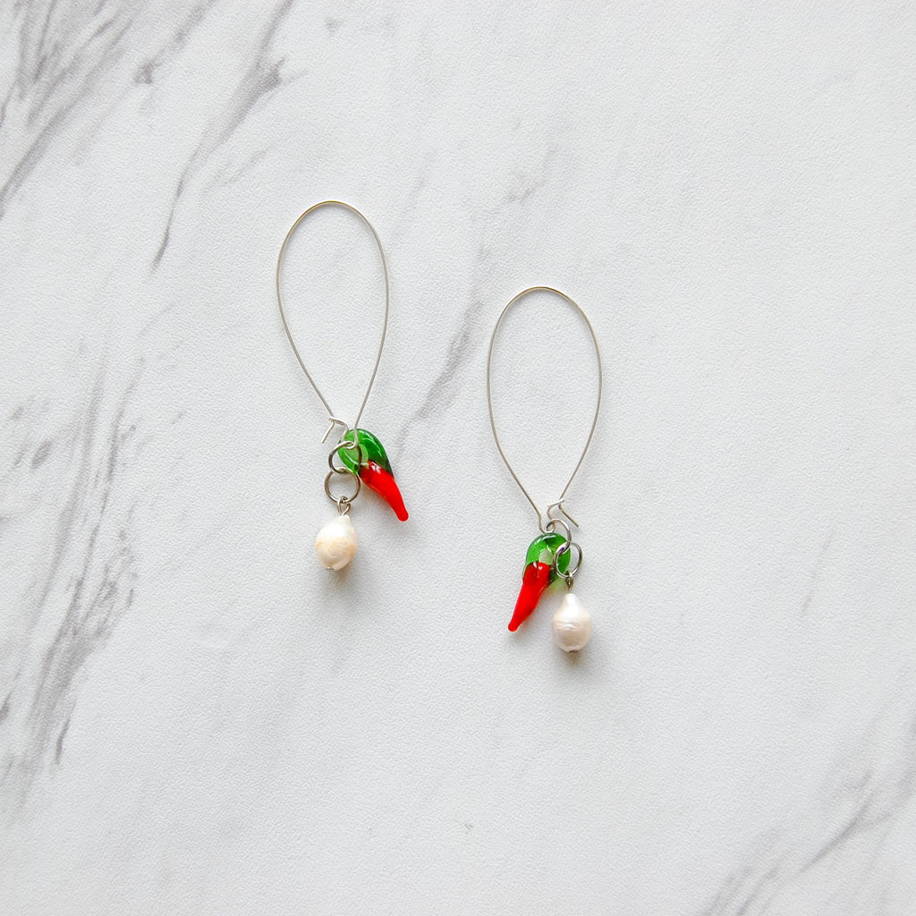 Pearl + Pepper Earrings - 11 & THOMS