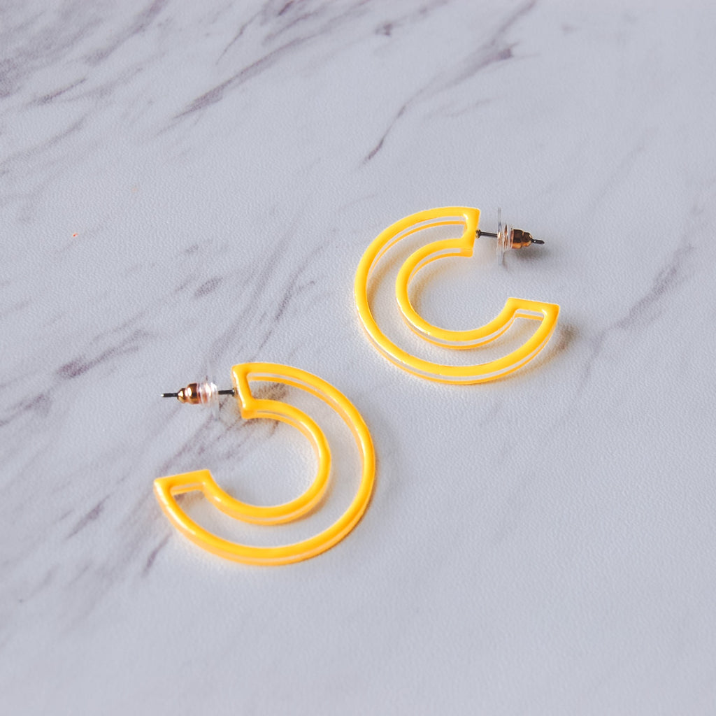 It's Time to Glow Up Earrings - 11 & THOMS
