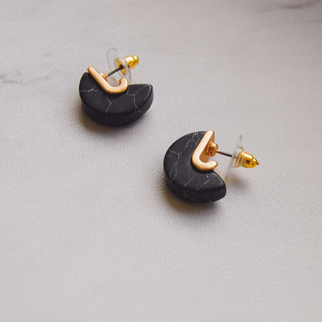Marsden Disc Earrings - 11 & THOMS