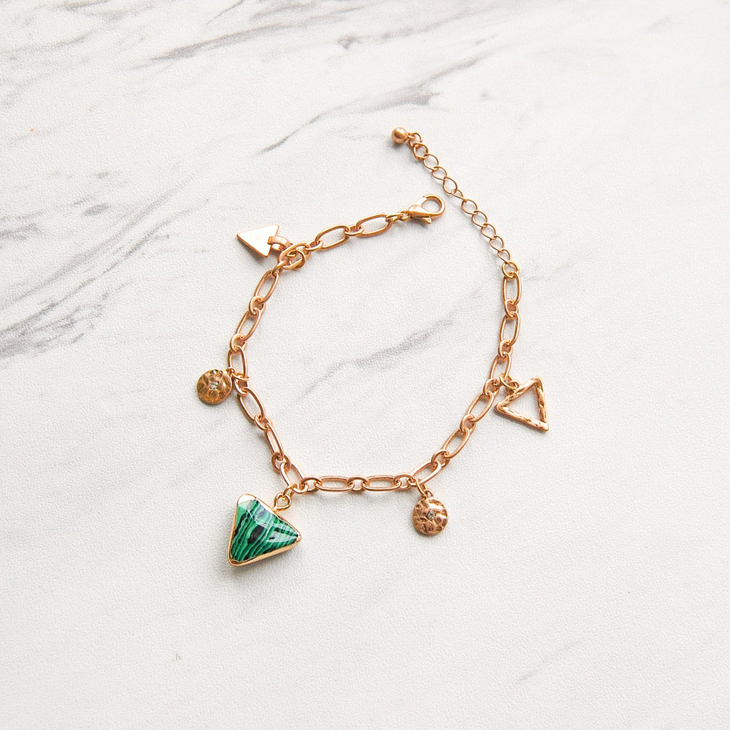 Banks Charm Bracelet - 11 & THOMS