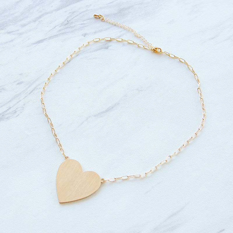 Heart of Gold Necklace - 11 & THOMS