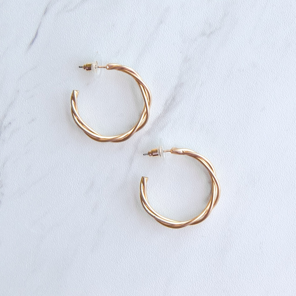 Ensley Hoop Earrings - 11 & THOMS