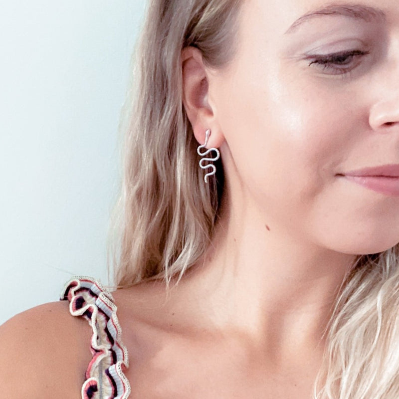Boa Earrings - 11 & THOMS