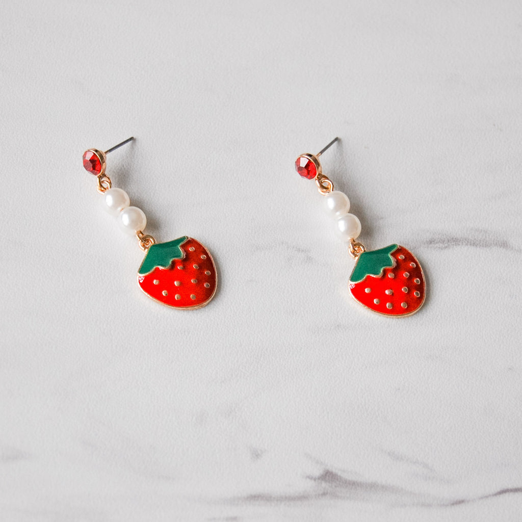 Berry Cute Earrings - 11 & THOMS