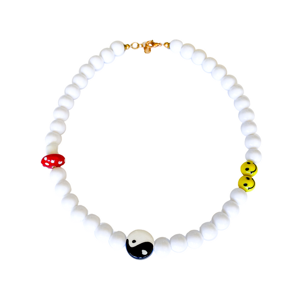 Bex Bead Necklace - 11 & THOMS