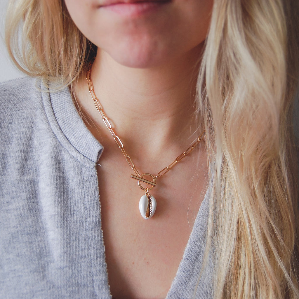 Cohen Toggle Necklace - 11 & THOMS