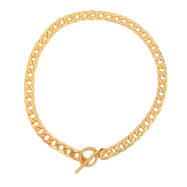 Calvert Toggle Necklace | Gold - 11 & THOMS