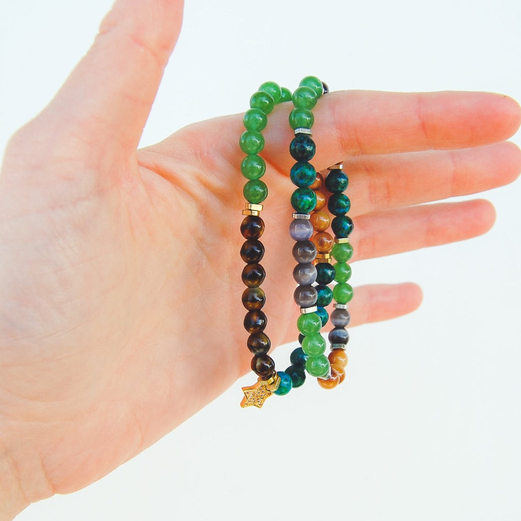 Down to Earth Bracelet Set - 11 & THOMS
