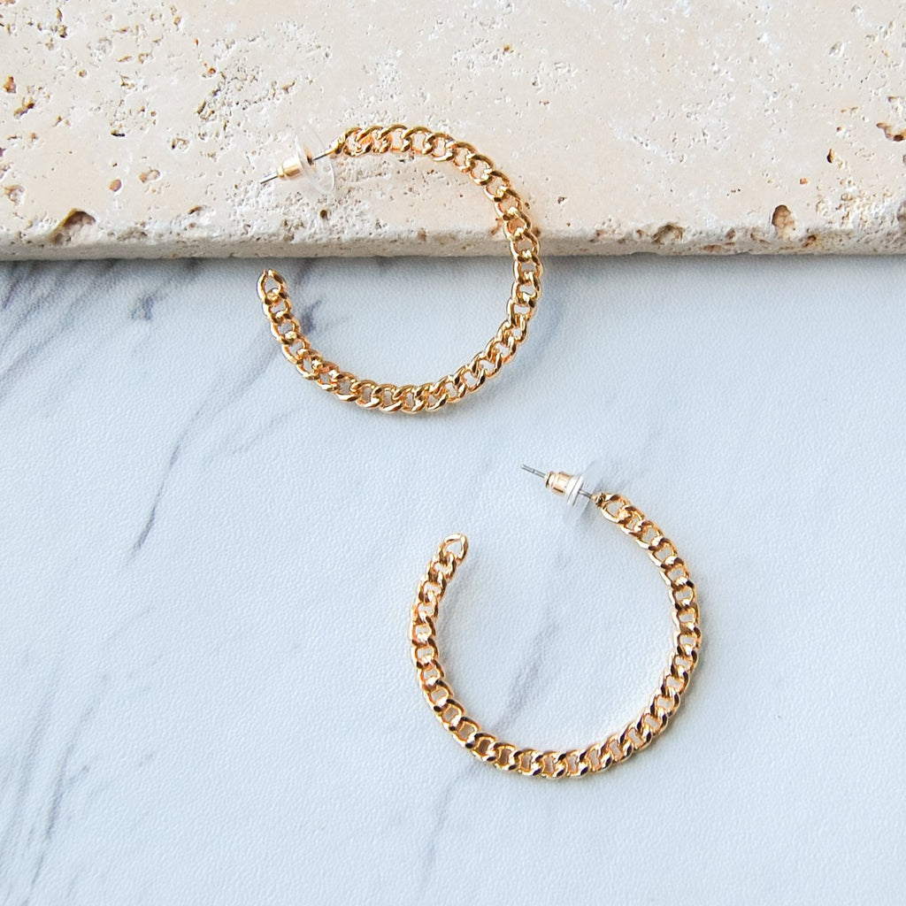 Phoenix Hoop Earrings - 11 & THOMS