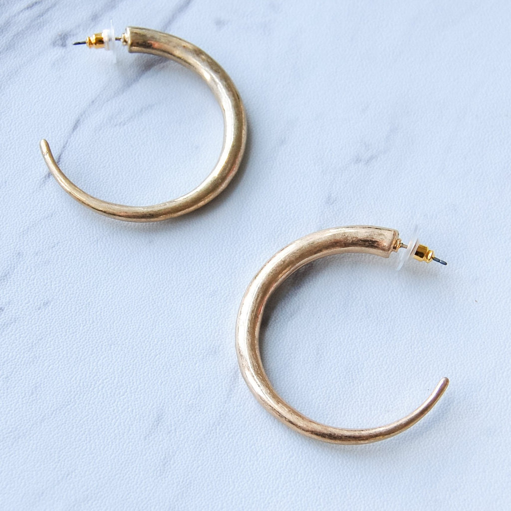 Sedona Hoop Earrings - 11 & THOMS