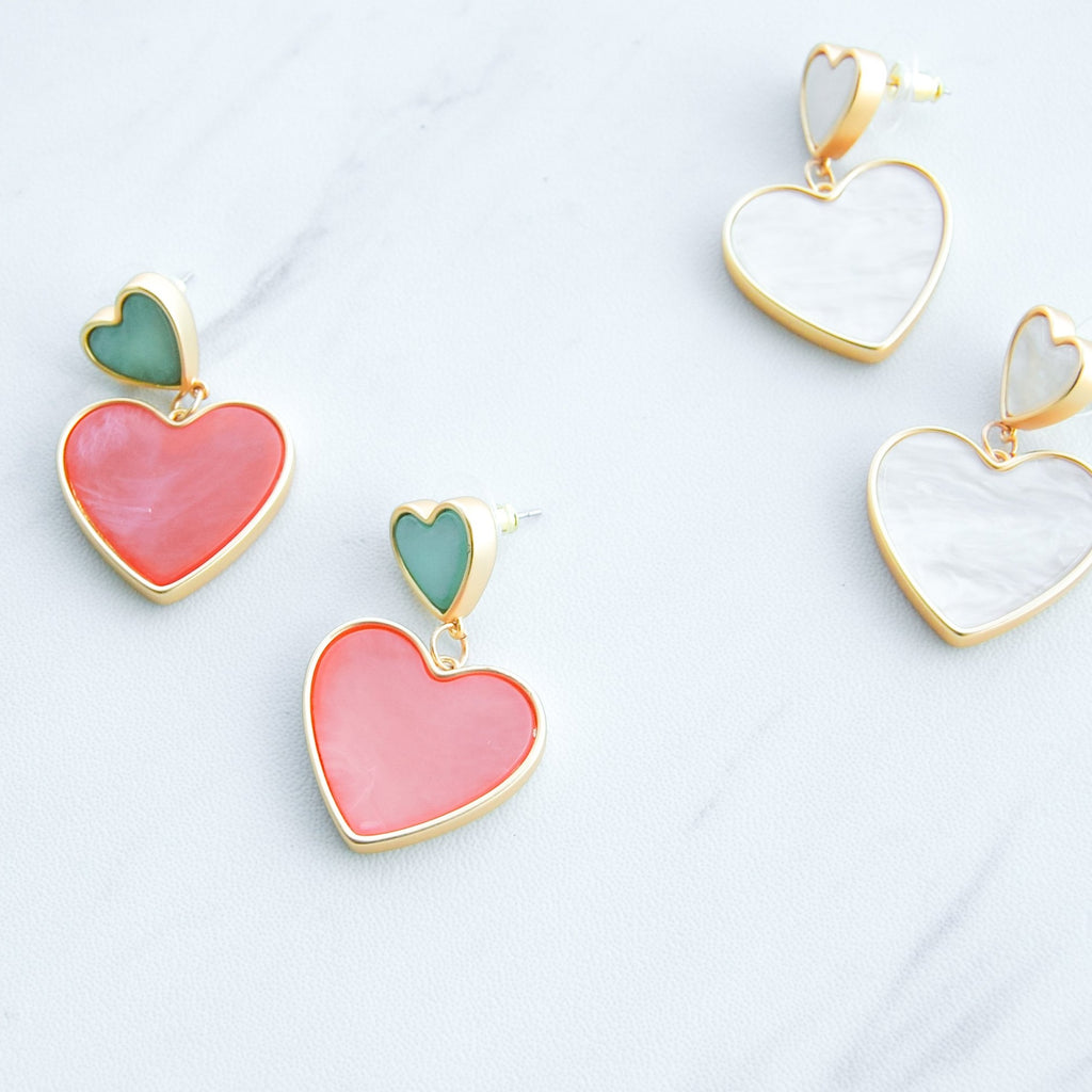 Queen of Hearts Earrings - 11 & THOMS
