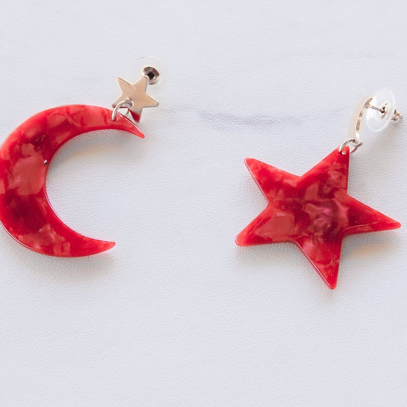 Goodnight Moon Earrings - 11 & THOMS