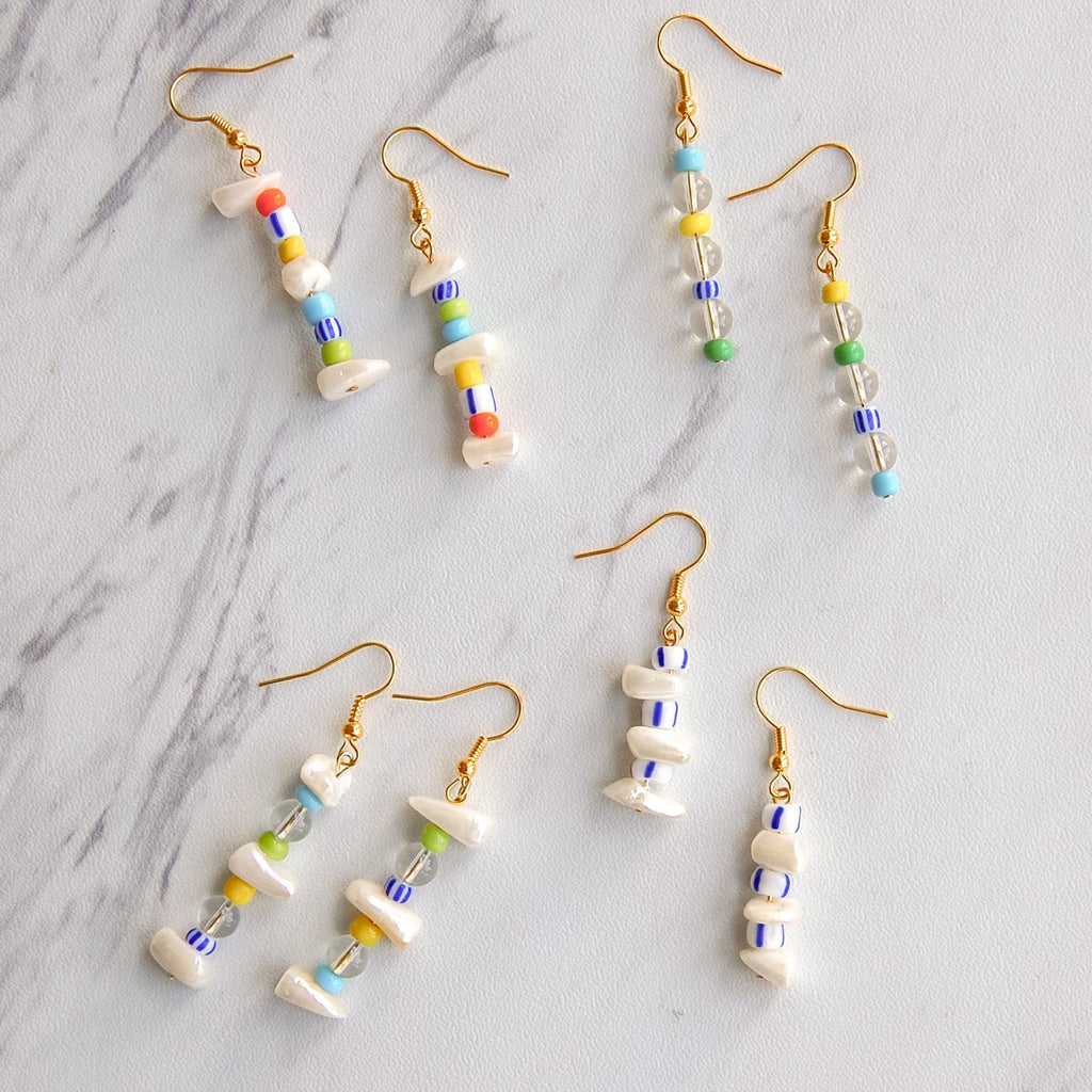 Birdie Bead Earrings - 11 & THOMS