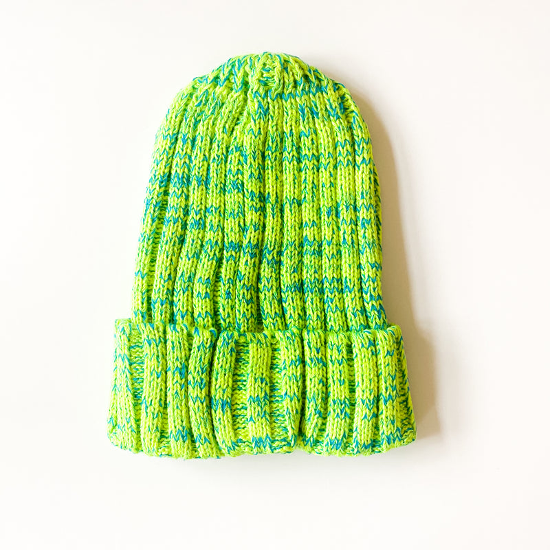Neon Knit Beanie - 11 & THOMS