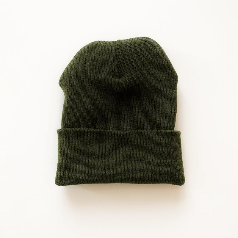 Solid Knit Beanie - 11 & THOMS