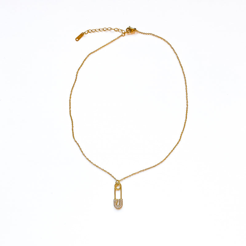 Paton Pin Necklace - 11 & THOMS