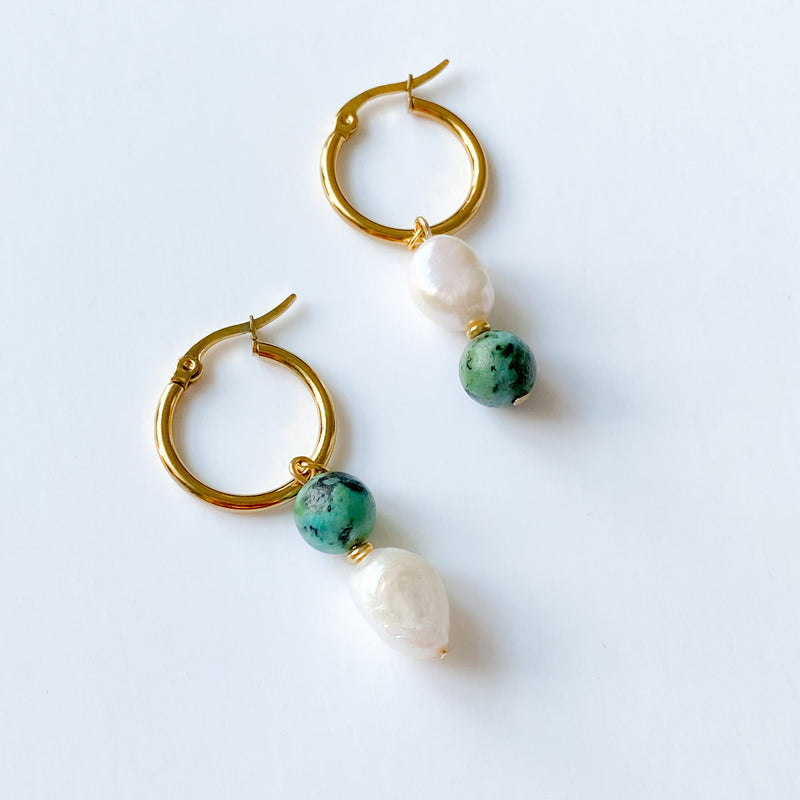 Nora Earrings - 11 & THOMS