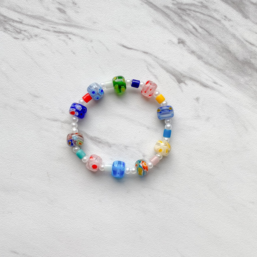 Multi Millefiori Bracelet - 11 & THOMS