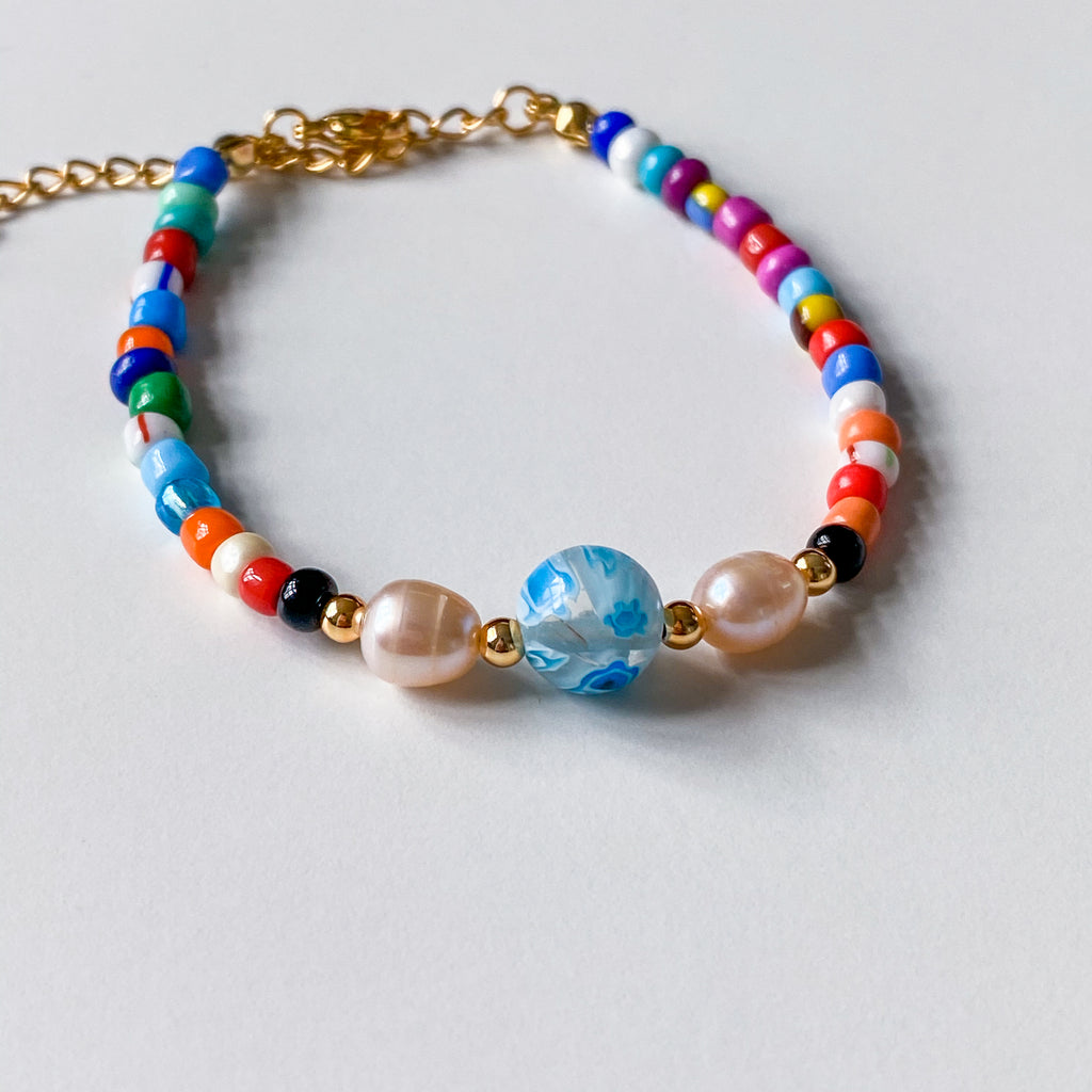 Colorful Beaded Bracelet - 11 & THOMS