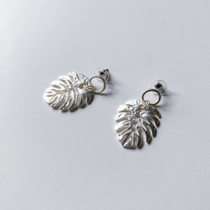 Banana Leaf Earrings - 11 & THOMS
