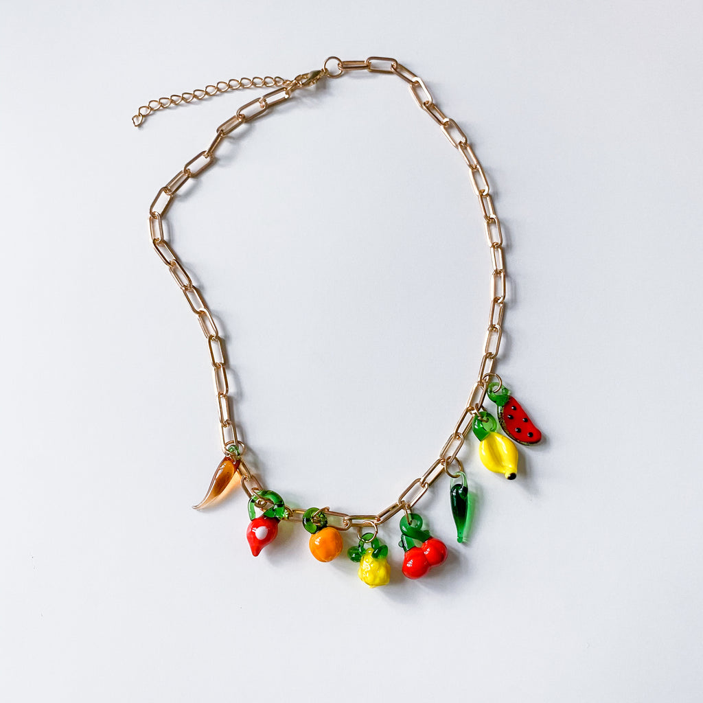 Fruity Chain Necklace - 11 & THOMS