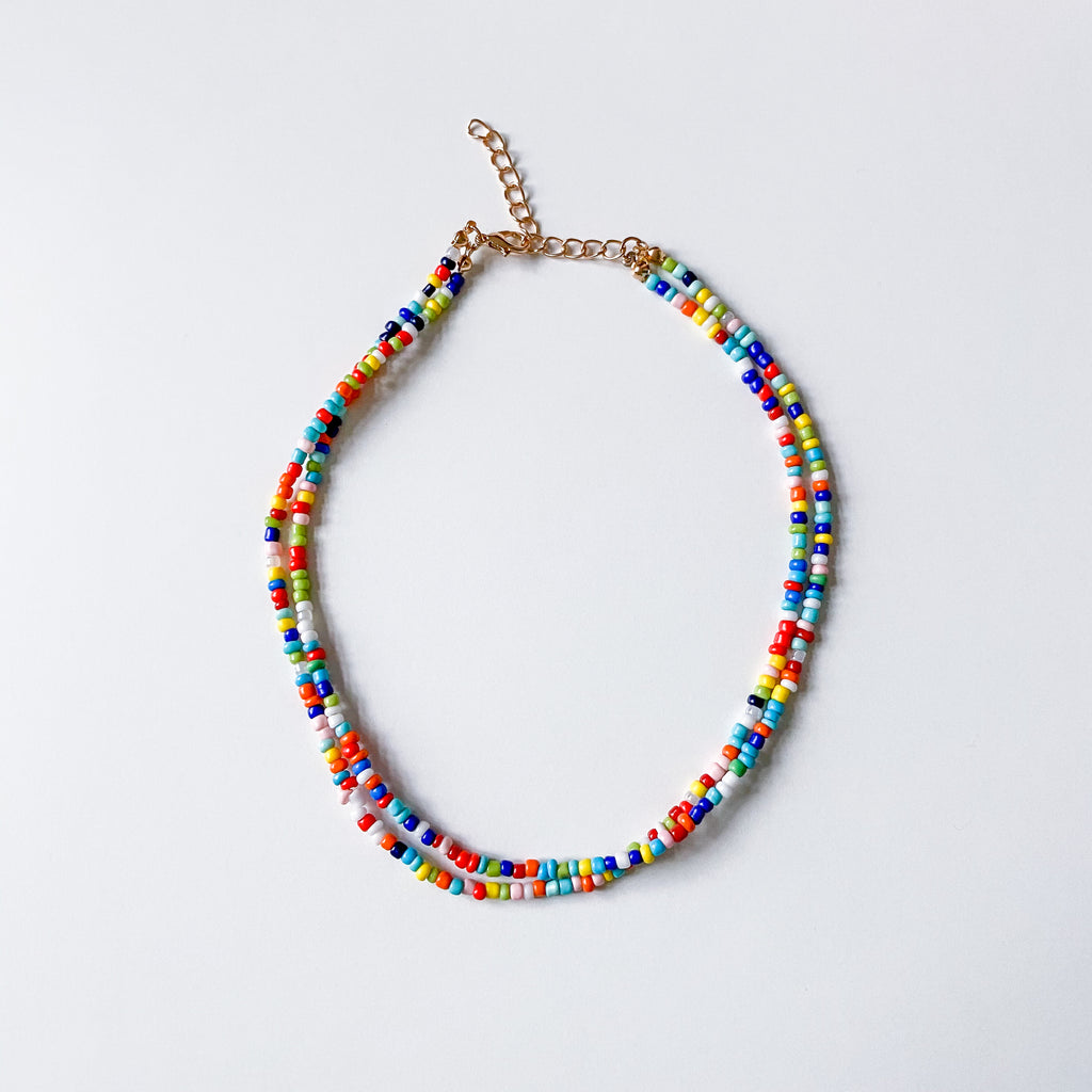 Double Seed Bead Choker - 11 & THOMS