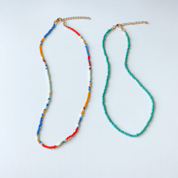 Beaded Necklace Set - 11 & THOMS