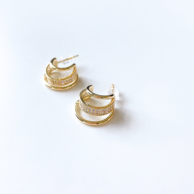 Marlowe Multi Hoop Earrings - 11 & THOMS