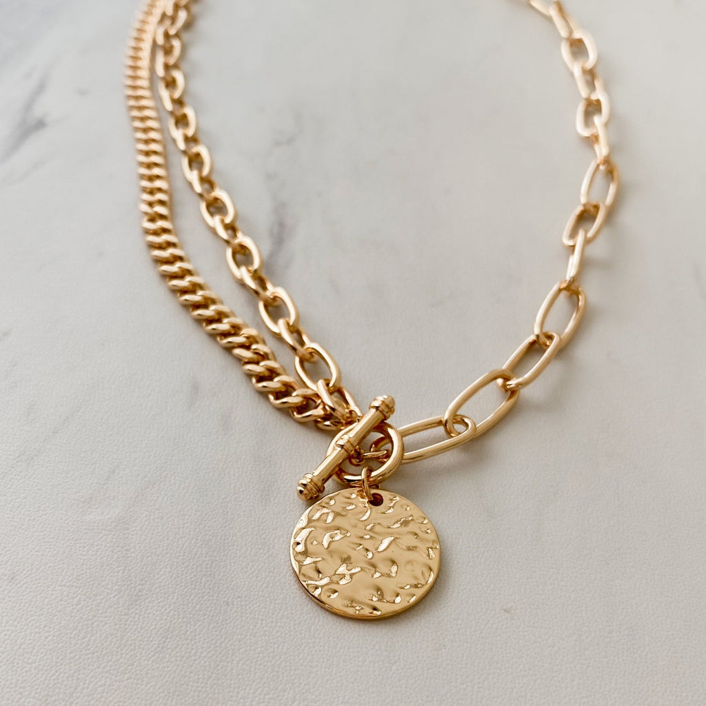 Chapman Coin Necklace - 11 & THOMS
