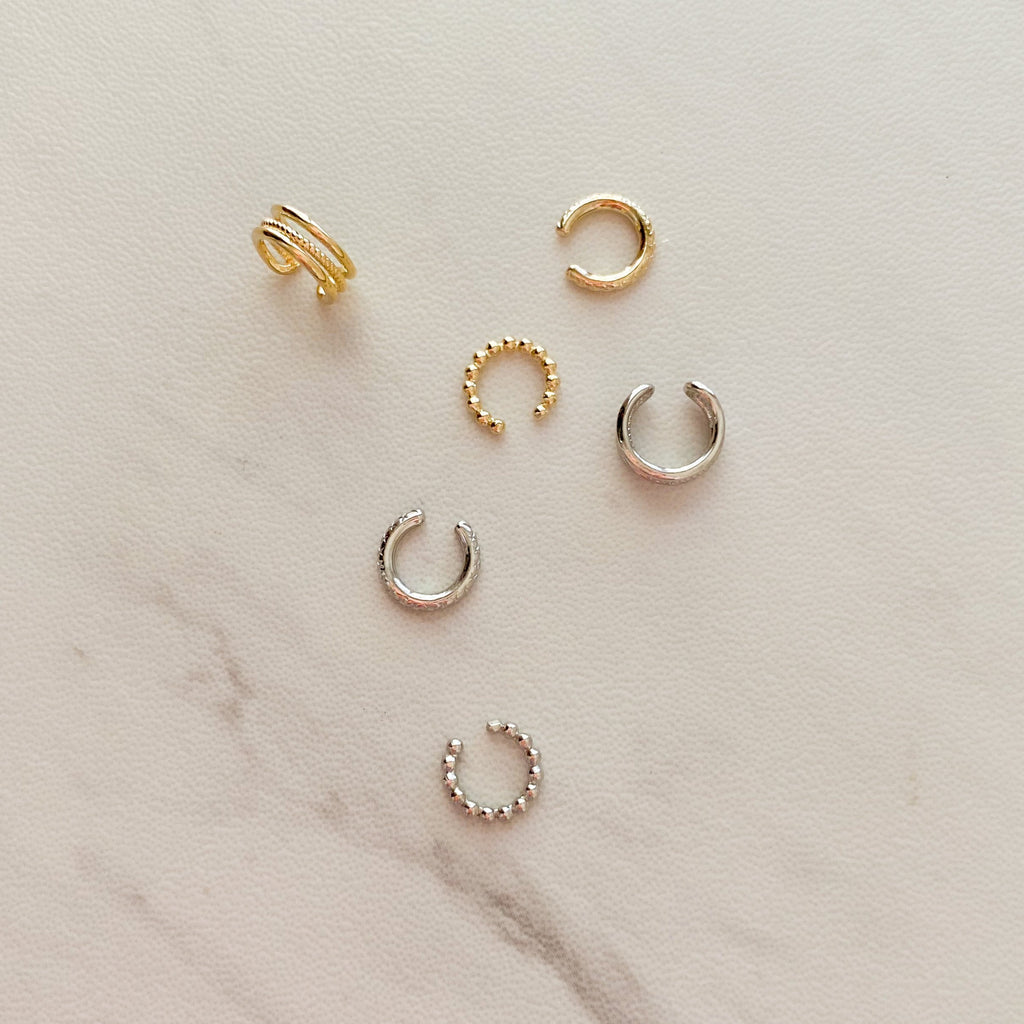 Itty Bitty Ear Cuffs (Set of 3) - 11 & THOMS