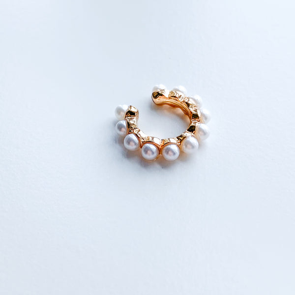 Pearl Ear Cuff - 11 & THOMS