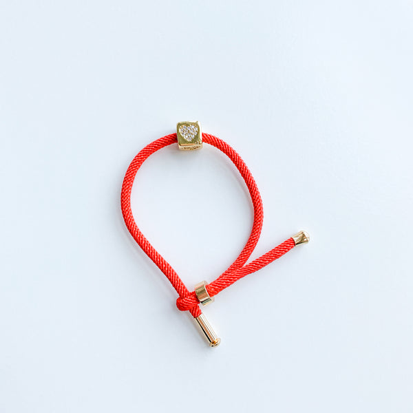 Red Rope Bracelet - 11 & THOMS