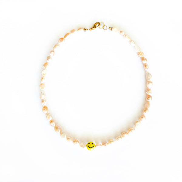 Solo Smile Necklace - 11 & THOMS