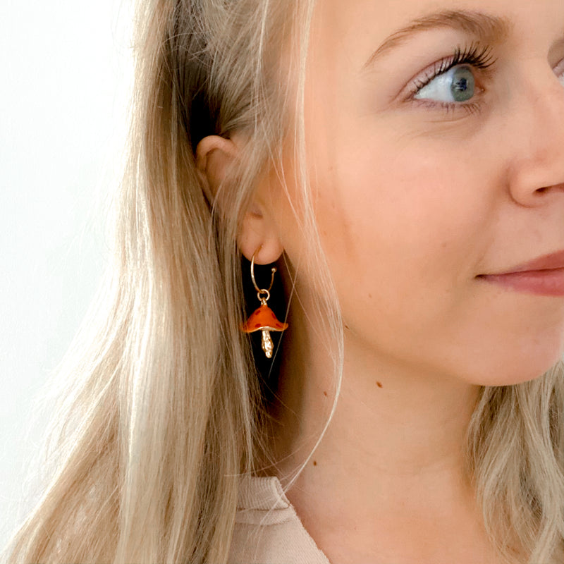 Fungus Amongus Earrings - 11 & THOMS