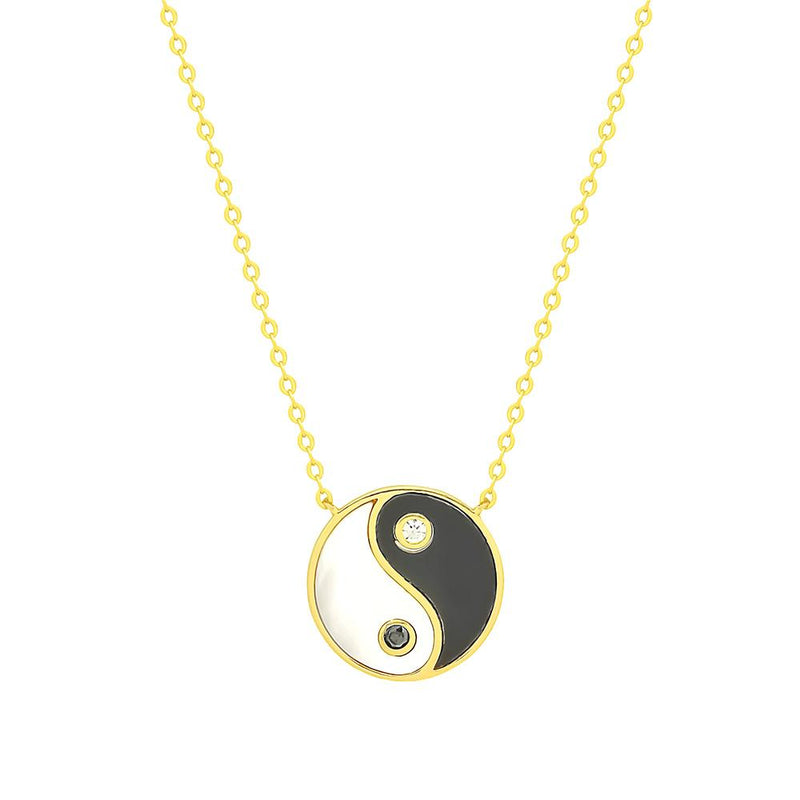 Yin Yang Necklace - 11 & THOMS