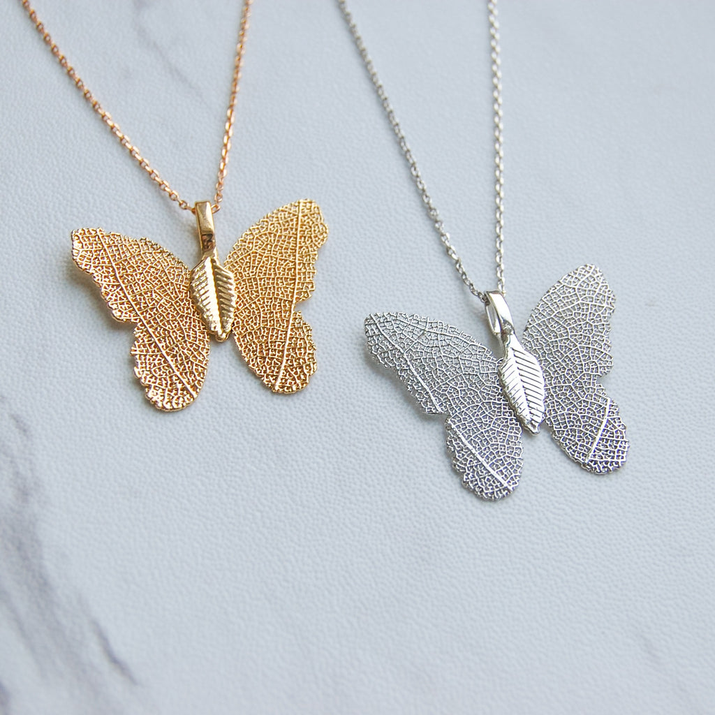 Bea Butterfly Necklace - 11 & THOMS