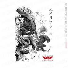 Load image into Gallery viewer, Xenomorphs Invasion Sumi-e