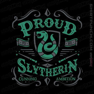 Proud to be a Slytherin