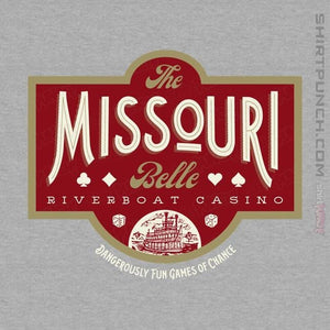 "Shirts Magnets / 3""x3"" / Sports Grey The Missouri Belle"