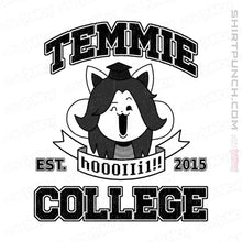 "Load image into Gallery viewer, Shirts Magnets / 3""x3"" / White Temmie College"