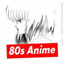 "Load image into Gallery viewer, Shirts Magnets / 3""x3"" / White 80s Anime"