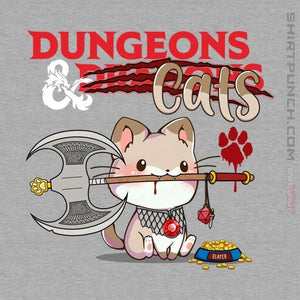 "Shirts Magnets / 3""x3"" / Sports Grey Dungeons And Cats"