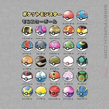Types Of Pokeballs