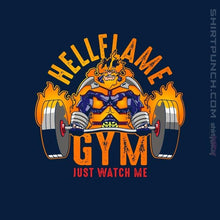 "Load image into Gallery viewer, Shirts Magnets / 3""x3"" / Navy Endeavor Gym"