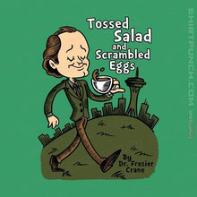 "Load image into Gallery viewer, Shirts Magnets / 3""x3"" / Irish Green Tossed Salad And Scrambled Eggs"