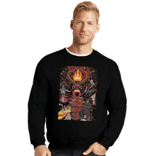Load image into Gallery viewer, Shirts Crewneck Sweater, Unisex / Small / Black Hand Of Doom